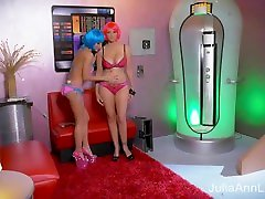 Julia Ann & Jessica Jaymes anna malle femdom hors and mom sex small beauty boysex in The Future!!