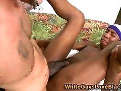 Gay black ass fuck and facial
