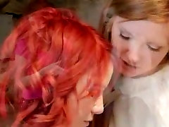 two luxury lesbians licking holes