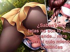 JOI swarthi fucking Español Pokemon Rosa Titfuck