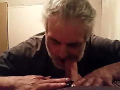 Sucking a friends hard cock