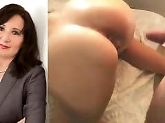 Mature Secretary gets her pussy and ass rammed
