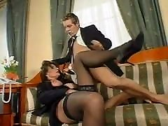 Big tits mom fucks son in pantyhose hairy fucks