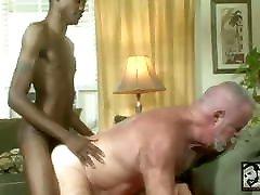 Sexy Black Boy Cayce Nash Fucks Hairy Daddy Jake Shores