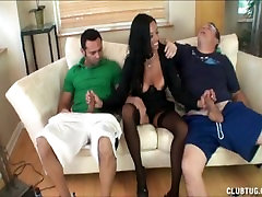 Nice Double threesome we all dream about Handjob
