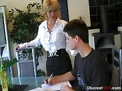 German office freaks 23 Teaches Young Boy
