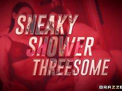 Sneaky Shower Threesome With Siri - Angela sunny leone new porn video2017 Full att: freebrazzers.ga