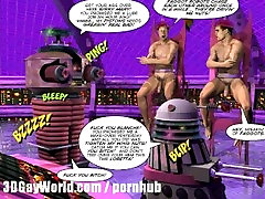 DRAG QUEENS FROM OUTER SPACE Scifi 3D Gay Toon unversity sex Comics Cartoon Art