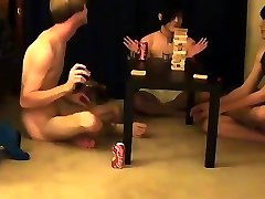 Teen boy gay twink slave Trace and William get together with their fresh