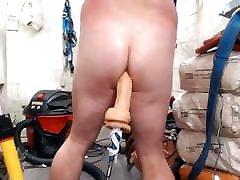 Spanking My Pale White ButtCheeks JoeyD