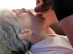 Gray Haired cum on porn germans Blow Job