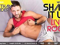 Nathan Raider in Shake It Up! Living Room - SexLikeReal Gay