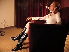 Monica redhead indian 1th night in boots sexy