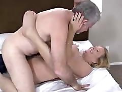stunning american naughty aunt couple in a very horny clip