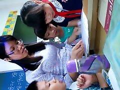 Chinese teacher upskirt