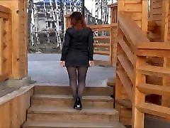 NylonBigAss in public
