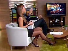 Long legs in black girls change sex on TV 10
