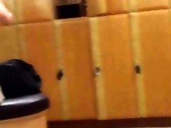 Real Mens Athletic locker room spy cam