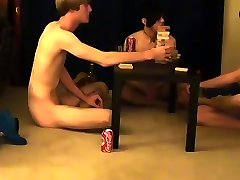Young boy gay twink blow job Trace and William get together with their