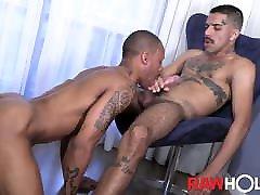 RAWHOLE Inked Renan Dotadao Fucks Brazilian Hole Bareback