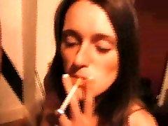 Sally Smokes and Wanks