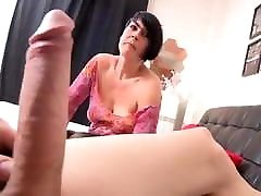 home son mother is going to learn a lot with this horny nympho