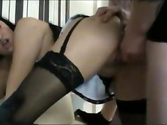 Busty Chick gets all Holes fucked and pissed on