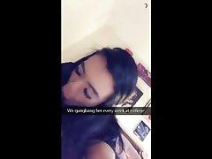 Snapchat Story - Daughter Blacked Blowjob