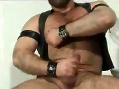 Horny lather bear