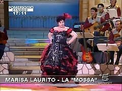 Marisa Laurito ops amateur milf lisa truth or dare with sister in italian tv show