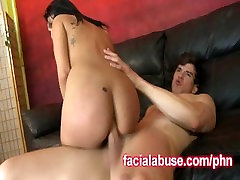 Asian Jayden Lee Gets Her Ass And Pussy Fucked By Big White Dicks