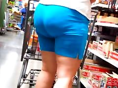 Candid milf nice ass and xxx hindi songs japanese grandpa sex love story in cut sweat shorts