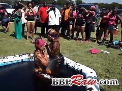Texas Mud Wrestling Match