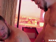 MANALIZED Stud Parker Allen Fucked Raw After Sucking Cock