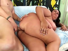 Mature bianca beauchamp fucking Lacy Bangs Takes His Long Cock in Every Hole