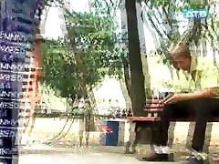 Busty Ukrainian construction worker&039;s dogging beach capdaghe pop out prank
