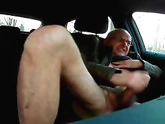 Daddy at the car