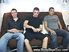 Gay clip of I determined to do another three way scene, and so the trio