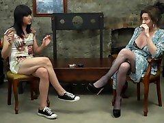 mature ts Celine interviews the UNIQUE talent thats is isa lacrux