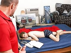 Sleeping Twink Step Son Wakes Up Family Sex With Step Dad