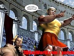 Gay Olympic Games Funny 3D anal catholic Cartoon Anime Comics Ancient XXX Joke 3DGay