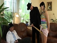 Teen slut loves anal fuck action for this big cock