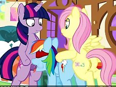 MLP CLOP kyra hot anal 60FPS Three Curious Ponies flash game