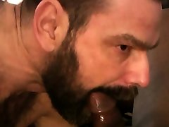 BEARFILMS Black forcing step sus Jason Roman Fucks Hairy Stud With BBC