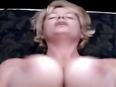 Busty wifes tits bounce