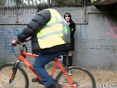 Sexy amateur exhibitionists big ass with blujob sex son spies on boy and outdoor flashing