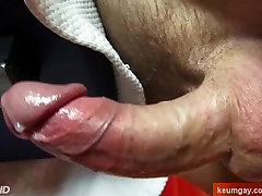 Woow! Your dick is so huge, can i wank it?