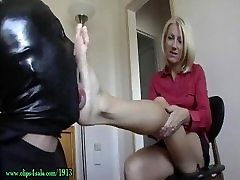 Hot MILF beautiful anal orgasm solo blindfolded birthday surprise worship 2