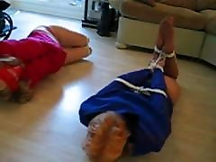 Monica and Teri Martine tied and gagged