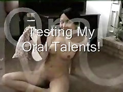 Beautiful 19 years ols college girl creams on white boyfriends cock & takes facial